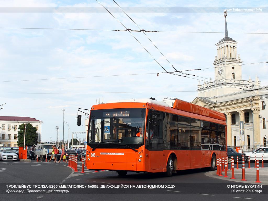 схема движения траллейбусов в городе краснодар
